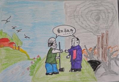 保护环境绘画图片