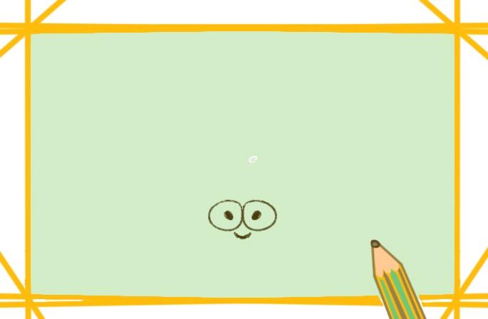 可爱的寄居蟹上色简笔画原创教程步骤图
