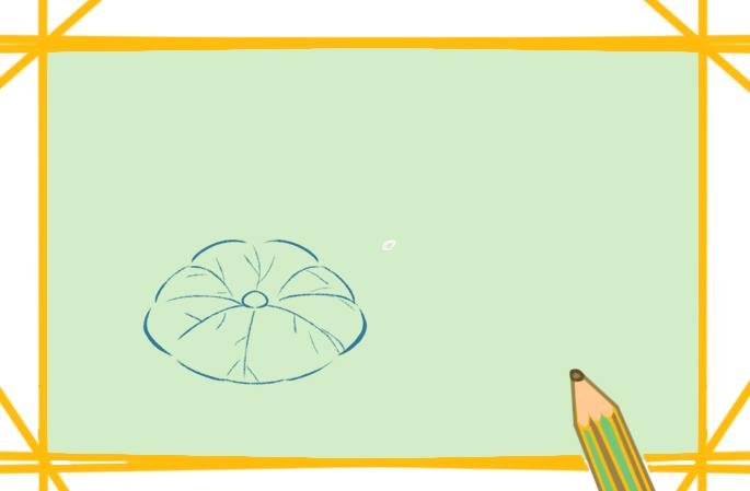 优雅的莲花上色简笔画要怎么画
