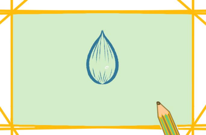 简单的莲花上色简笔画要怎么画