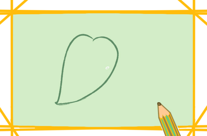 好看的树叶简笔画图片教程步骤