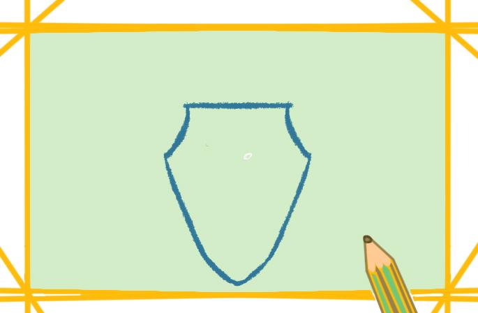 防御用的盾牌上色简笔画要怎么画