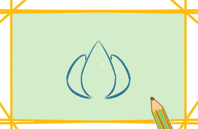 优雅的莲花上色简笔画教程图片大全