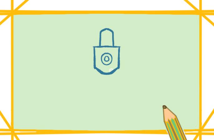 數學工具圓規上色簡筆畫圖片教程步驟